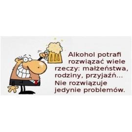 Kubek - Alkohol potrafi rozwiązać wiele rzeczy