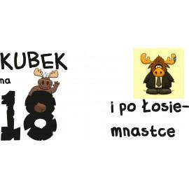 Kubek - 18 ste Urodziny