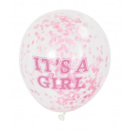 Balon z Helem -ITS A GIRL