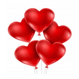 Balony z Helem -serduszka