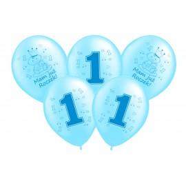 Balon z helem -liczba 1,Mam już roczek