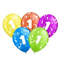 Balon z helem -liczba 1