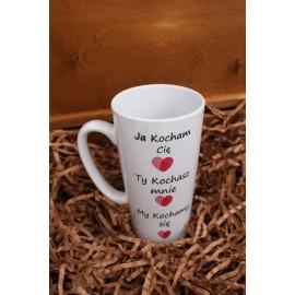 Kubek Latte -My Kochamy się