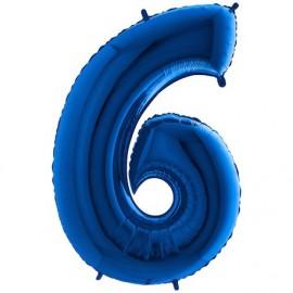 Balon foliowy 100 cm niebieski