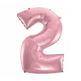 Balon Foliowy 100 cm różowy