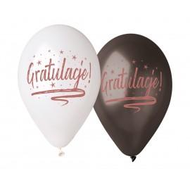 """Balon 12"""" cali Gratulacje"""